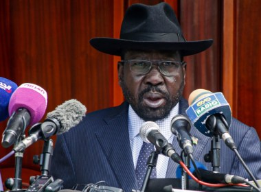 South Sudan's President Kiir bans chanting of national anthem in his absence