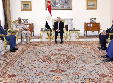 Sudanese General meets Egyptian leader Sisi for talks on unrest