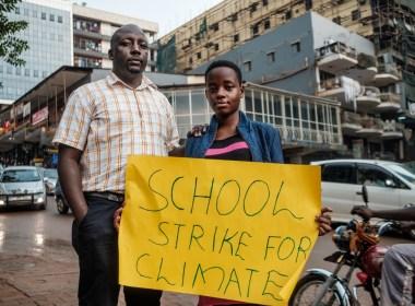 Uganda's teenage environmental activist calls for urgent climate change action