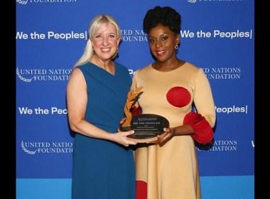 Nigeria's Chimamanda Adichie receives UN Global Leadership Award