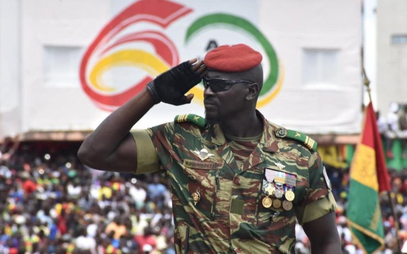 Guinean Colonel Doumbouya Topples President Alpha Conde (News Central TV)