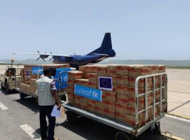 First EU Humanitarian Air Bridge Flight Arrives Tigray (News Central TV)