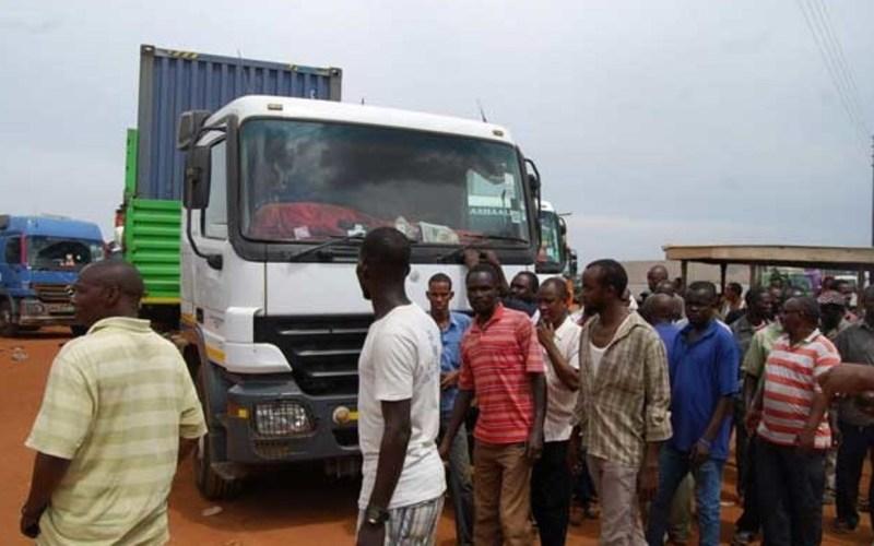 Juba-Nimule- road Truck Drivers' Strike Enters Second Week (News Central TV)