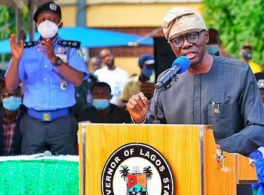 The Lagos State Governor