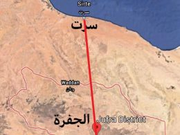 The Sirte-Jufra Highway is a strategic route for Libya and its neighbours
