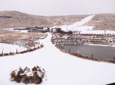 Swathes of Lesotho Blanketed in Snow (News Central TV)