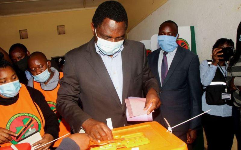 Zambian president Lungu Cries Foul! (News Central TV)