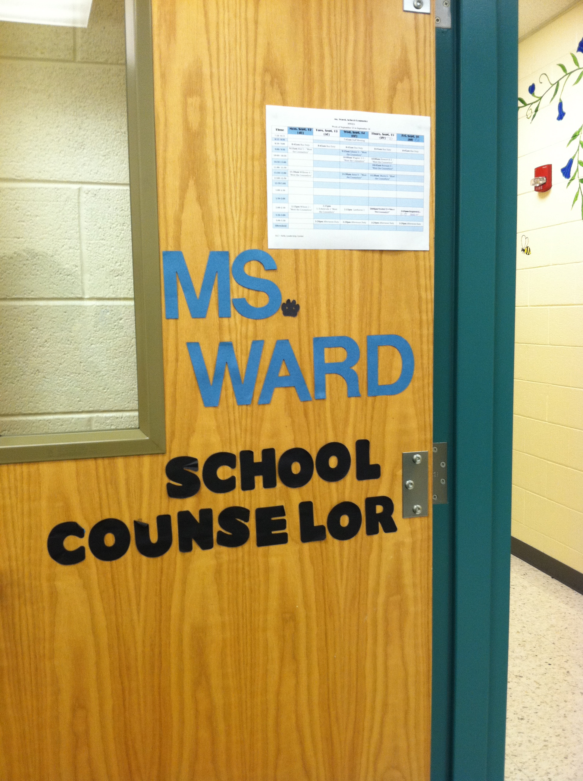 Counselor Door Signs Pictures to Pin on Pinterest