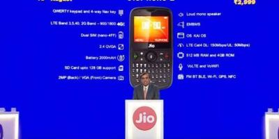 Registration Process for Jio Phone 2 Starts on August 15th