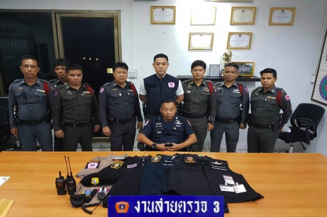 all new toyota camry thailand interior grand veloz another thai police impersonator nabbed - but this guy is ...