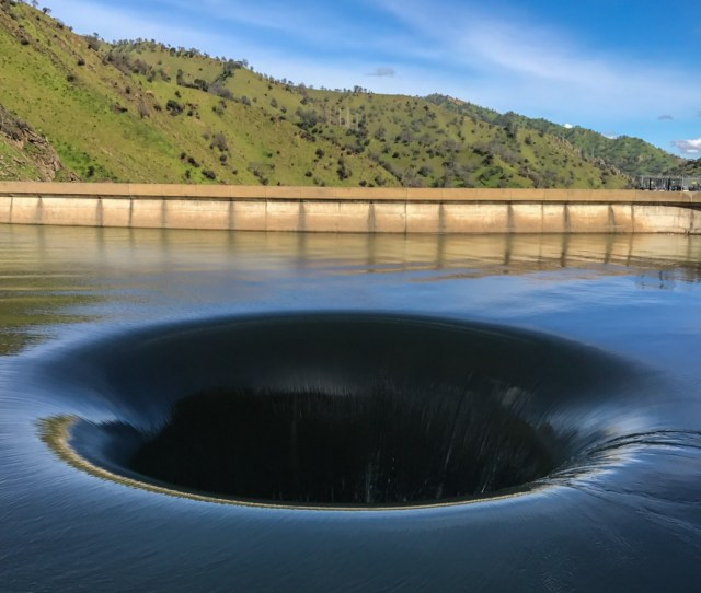 A Man Solved The Mystery Of The Gaping Hole Inside A Lake In California