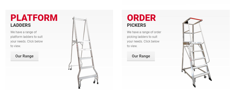Types of industrial ladders and their safety instructions