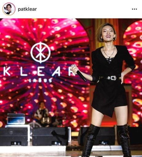 แพท นักร้องนำวง Klear
