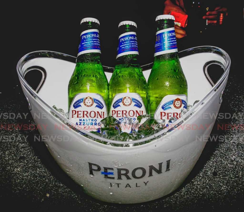 Stylish launch for Peroni beer at the Bungalow