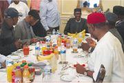 APC Govs, Oyegun visit Buhari
