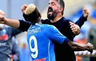 Osimhen's first serie A goal excites Napoli manager, Gattuso
