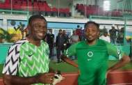 AFCON qualifiers: Edo Deputy Gov., Shaibu trains with Super Eagles