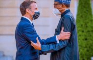 PHOTOS: Macron receives Buhari in Paris