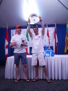 Shane MacCarthy & Taxi Lift GP14 World title