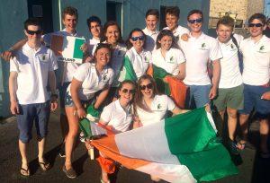 Shane McLoughlin 420 Team Ireland Worlds San Remo, Italy