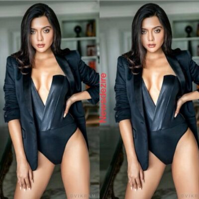 Ruhi Singh's Latest Pictures in Black Monokini Will Set Your Heart Racing