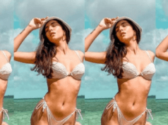 Radhika Seth Flaunts Her Perfectly Toned Figure in White Bikini