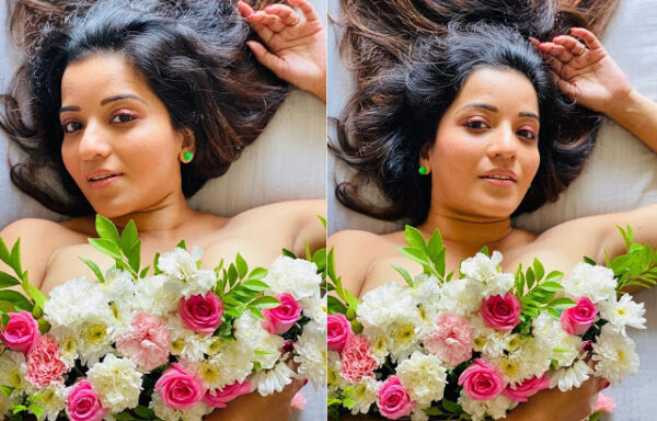 ex bigg boss contestant Monalisa shares topless picture