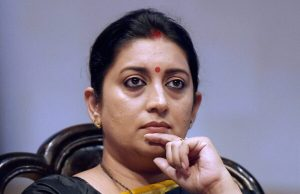 Union Minister Smriti Irani tests positive for COVID-19