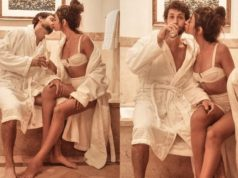 Alanna Panday shares Intimate Lip-lock moment in Bathroom with Boyfriend Ivor