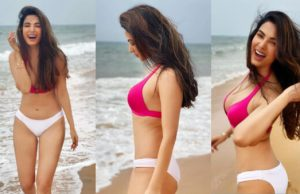 These STUNNING Pictures Of Sonal Chauhan In Pink Bikini Will Leave You Mesmerised