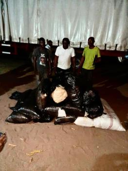NDLEA intercepts brewery truck with illicit drug, nabs 20-yr-old with 6grams cocaine in Ondo