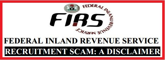 FIRS RECRUITMENT SCAM