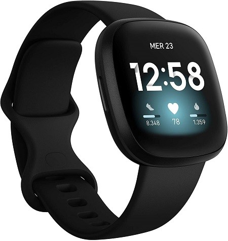 Fitbit Versa 3 smartwatch android