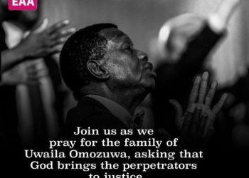 Pastor Adeboye reacts to alleged rape, murder of UNIBEN student inside RCCG church