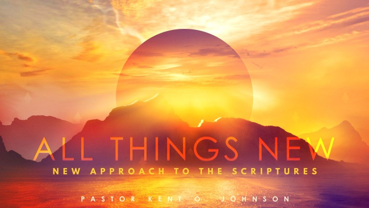 All Things New: New Approach To The Scripture Image