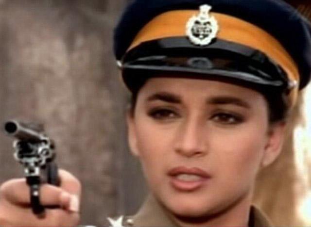 Image result for madhuri dixit police uniform