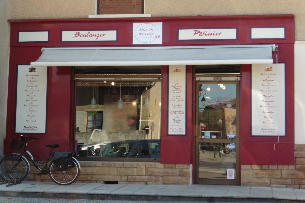 St-Pierre-Chandieu | MaisonServage boulangerie pâtisserie traditionnelle
