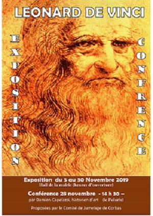 CORBAS   Exposition temporaire Léonard De Vinci
