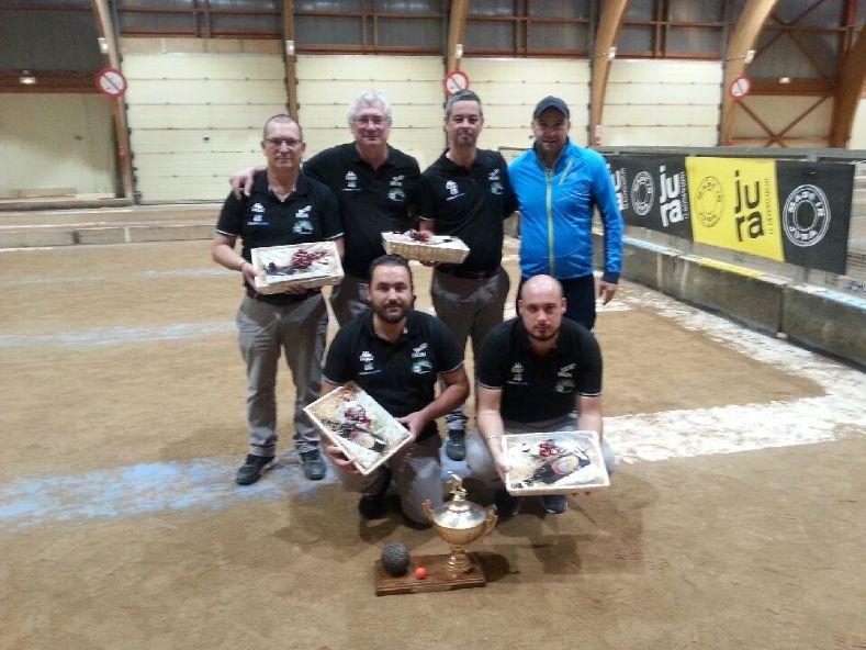 BRON   Une formation bouliste s'impose à Saint-Claude