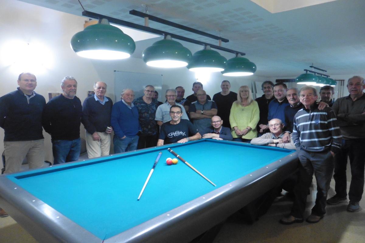 GENAS   Effectif record et tournoi au Billard Club de Genas-Azieu