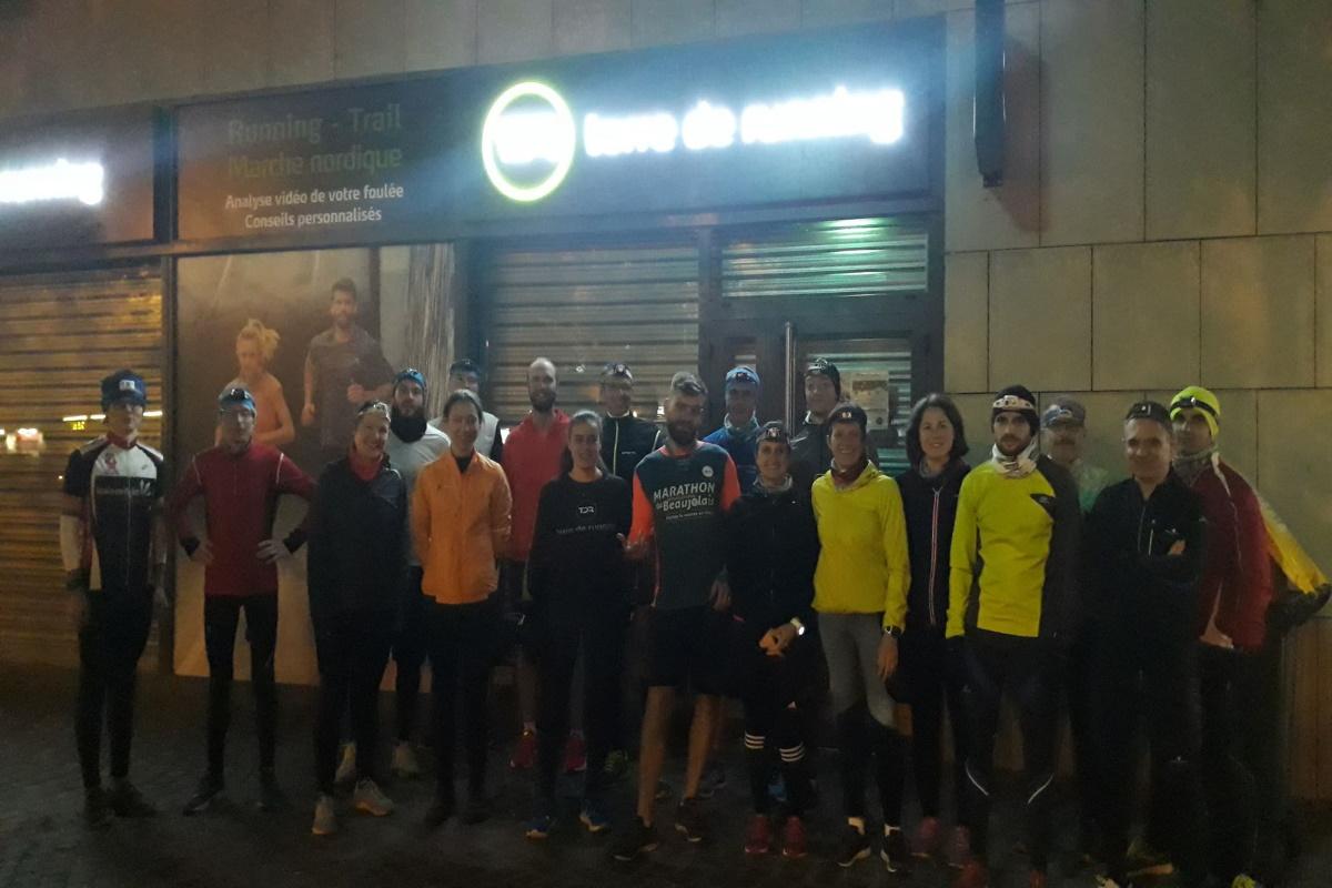 DECINES | 13 coureurs aux couleurs de Terre de running à la Saintélyon