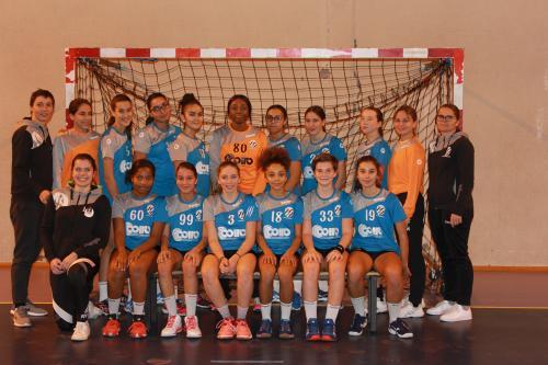 Bron-Lyon-Vénissieux-Villeurbanne : Qualif des handballeuses en entente