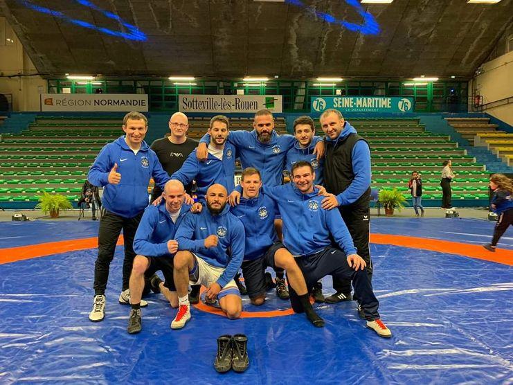 BRON | Les lutteurs en finale championnat France par équipes