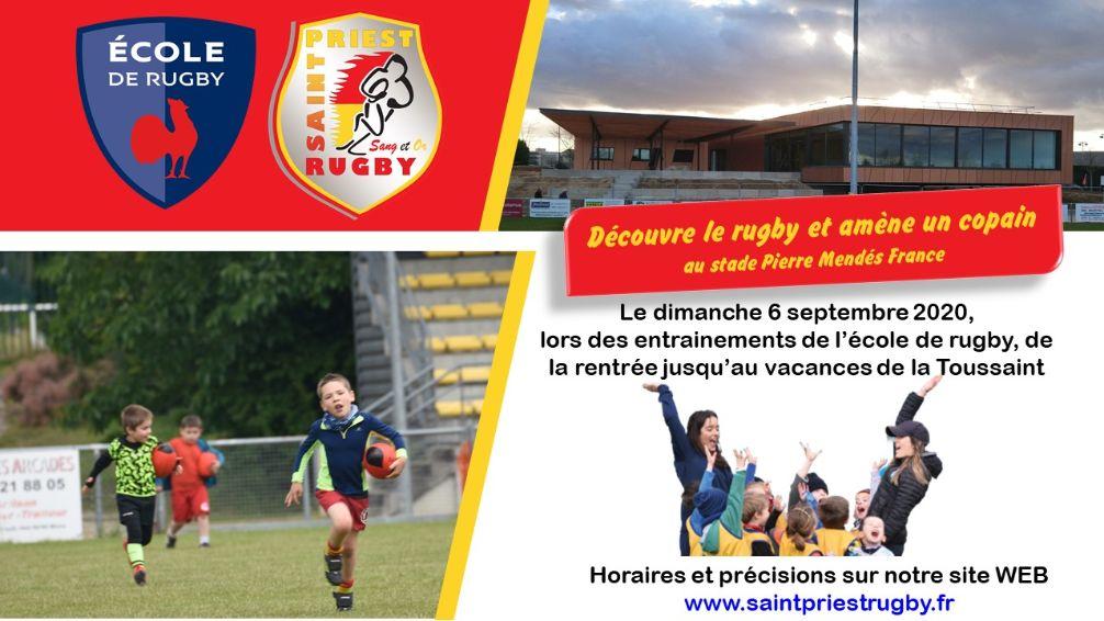 SAINT-PRIEST | Focus sur une association > Saint-Priest Rugby