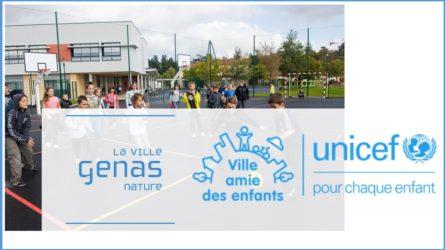 GENAS | Un troisième titre «Ville amie des enfants»