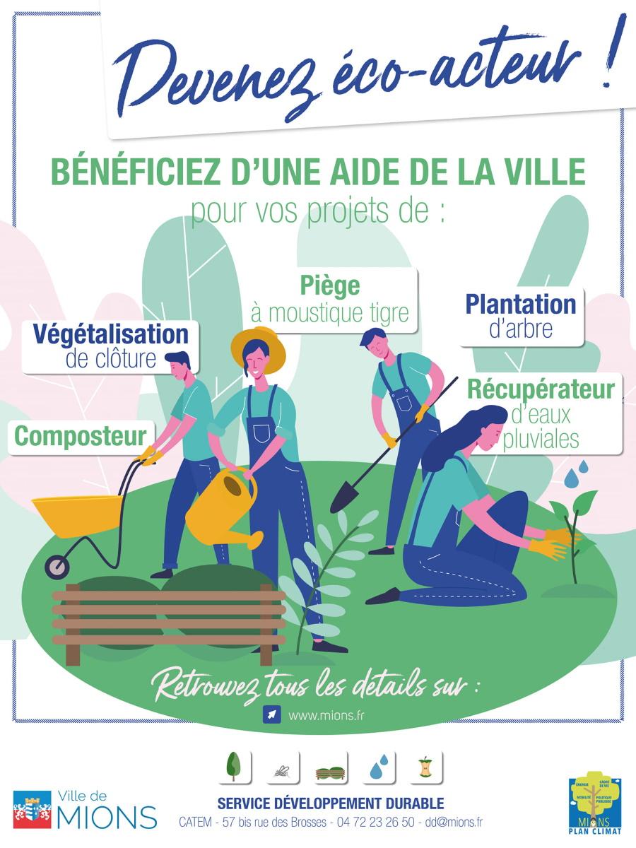 MIONS | Soutien des initiatives éco-responsables