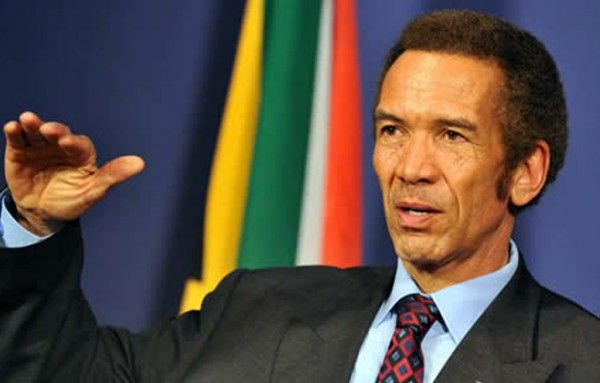 •Botswana's former President Ian Khama
