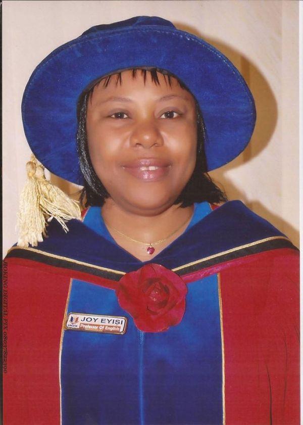 •NOUN's new Deputy Vice-Chancellor (Academics), Prof. Joy Eyisi