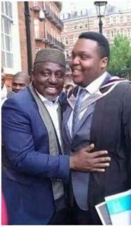 •Governor Okorocha and son, Ahamefula Brendan Okorocha