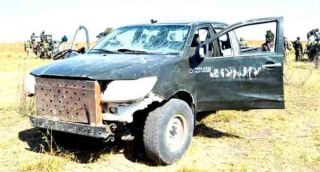 •Boko Haram vehicle recovered by troops